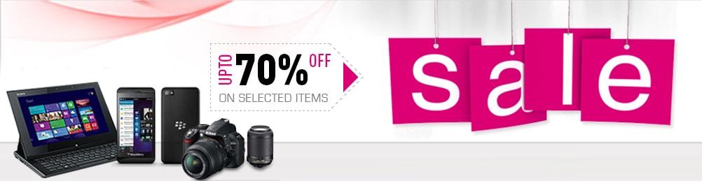 Sale upto 70% off